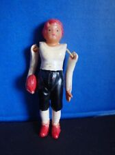VINTAGE CELLULOID FOOTBALL PLAYER- 1940s OCCUPIED JAPAN