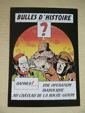carte BLAKE et MORTIMER  tirage limité 2000 ex de 1997