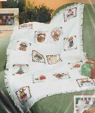 Christmas Treasures Afghan Cross Stitch Kit Dimensions Vicky Howard 29 x 45 USA