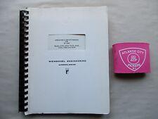 Weinschel Rf Unit Models 431A 432A 433A 434A 435A 438A 442A Service Manual