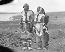 Ikpukhuak & Shaman wife Higalik Canada Native American 6x5 Inch Reprint Photo