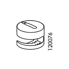 8 IKEA CAM LOCK NUT 120076