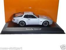 Porsche 924 GT silber 1981 - Minichamps 1:43 - 940 066122 neu