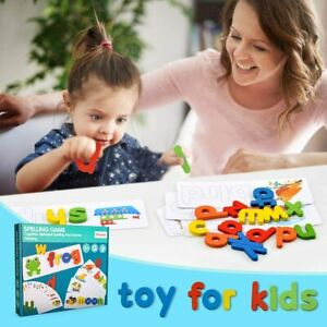 Wooden Words Spelling Games for Kids - Educational Gifts