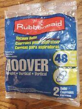 2 Rubbermaid Hoover Vacuum Belts #48 nos