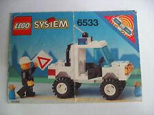 Lego City 6533 de recette, ONLY instructions