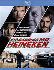Kidnapping Mr. Heineken (Blu-ray Disc, 2015) NEW WITH SLIP COVER ANTHONY HOPKINS