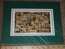 CELEBRATE MICHIGAN STATE UNIVERSITY 8 x 5 PRINT RICH ERNSTING SPARTANS MSU GREEN