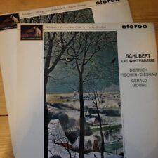 ASD 551/52 Schubert Winterreise / Fischer-Dieskau 3 x Single Sided TEST PRESS...