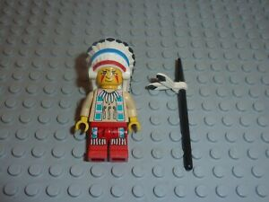 Personnage LEGO WESTERN INDIEN Minifig / Set 6746/6763/6709/6766