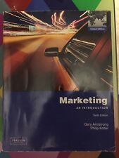 Marketing an introduction gary armstrong Philip Kotler tenth edition