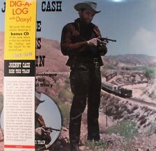 "JOHNNY CASH ""RIDE THIS TRAIN"" VINYL LP REISSUE + CD BONUS NEW"