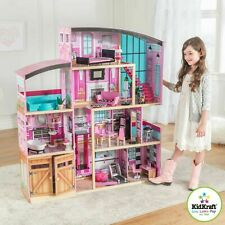 Dolls House Girls dollhouse KidKraft Shimmer Mansion + 30 Lifestyle Accessories