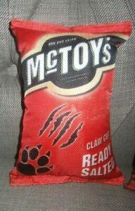fun crinkle dog toy mctoys claw cut like a packet of mc coys fetch play mccoys