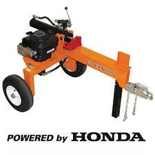 Brave EZ Split 15 Ton Honda Horizontal Gas Log Splitter