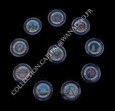 Coffret Trésor de L'Empire des Mayas 10 monnaies de1 Peso Mexicain