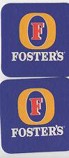 Bierdeckel Foster´s  Foster's Group Australien Fosters *20