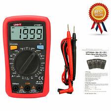 Uni T Ut33b Digital Multimeter Lcd Palm Size Dcac Ohm Current Resistance Te
