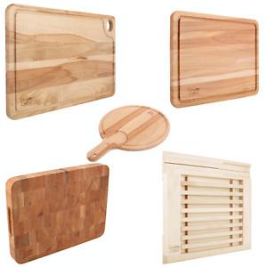 Creative Home Großes Holz-Schneidebrett   5 Varianten   Umkehrbar, mit Saftrille