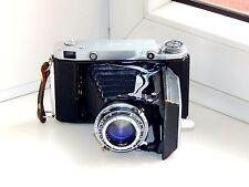 OLD RARE MOSKVA 5 Soviet Folding Camera Super Ikonta Medium Format w/s lens