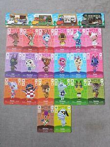 Animal Crossing NFC Amiibo Karten Auswahl Villagers Sanrio für Switch / Lite
