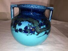 Rookwood Pottery Vase-High Glaze-Edward T Hurley-1924-Art Deco-Abstract