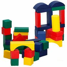 75 Holz Bauklötze Holzbauklötze Holzklötze bunt Holz Kinder Spielzeug Ab 2 Jahre