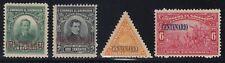 El Salvador 1921 Centenary Of Independence Set VLM Mint. Scott 481A-481D