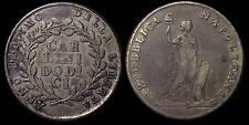 pci748) Napoli Repubblica Anno Settimo  Piastra 12 Carlini 1799 R da Monetiere