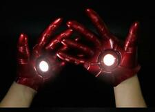 The Avengers Iron Man Gauntlet Glove LED Light Left Right Hand New In Box gift