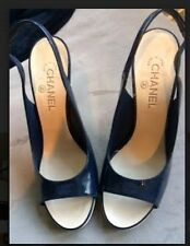 Chanel Open Toe Sling Back Shoes in size 41