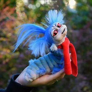 Worm From Labyrinths Handmade Worm Stuffed Toy Funny Present Animal Plush Doll