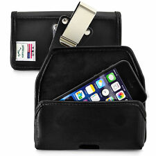 Turtleback iPhone SE and 5 Durable Leather Pouch Holster Metal Belt Clip Case