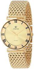 Jowissa Women's J2.108.l Roma Gold PVD Dial Roman Numeral Steel Watch