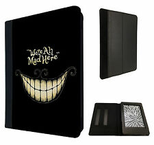 Fun WE ARE ALL MAD HERE 188 Case Flip cover For Kindle Paperwhite 6''