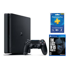 PlayStation 4 Slim 1TB + The Last of Us Part 2 + 3 Month PS Plus Membership