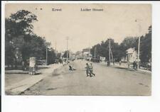 KOWEL >> Lucker Strasse << alte s/w AK kleinf. 1917 , Feldpost