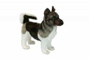 HANSA Stuffed Animal Real Akita-ken dog No.6143 inu Cute 0746550433751