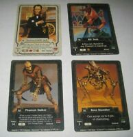 (7) Guardians collectible trading card game lot tcg/ccg rare 2 1995