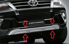 GENUINE TOYOTA NEW FORTUNER  2015-2018 FRONT BUMPER GUARD COVER