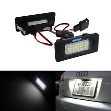 Blanc Eclairage de plaque LED VW Golf VI Jetta Passat Variant Touran Sharan Seat