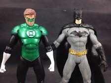 KO custom DC COMIC BATMAN AND GREEN LANTERN 6 INCH loose figure