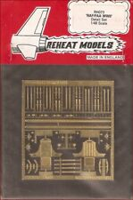 Reheat Models Photo-Etch WWII RAF/FAA Detail Set for 1/48 Scale Model Kit