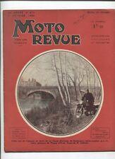 Moto Revue N°673  ; 1er fevrier 1936 :  Gnome et Rhone 250 latérales junior