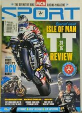 MCN Sport UK TT Review 2016 Special Issue Isle of Man Bike Race FREE SHIPPING sb