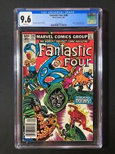 """Fantastic Four #246 CGC 9.6 (1982) - Newsstand - """"Death"""" of the Puppet Master"""