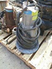 Flygt Submersible Pump 3068180 0850412 3ph 60hz 19 Hp 3415 Rpm 325955b Use