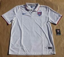 Nike team USA EEUU soccer football jersey shirt 2014 World Cup polo SZ XL