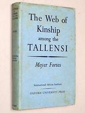 web of verwandtschaft zwischen den tallensi-meyer fortes 1949 1st ed) ghana frafra-stammes