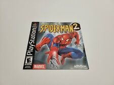 Spider-Man 2 Enter Electro PS1 Black Label Manual Only (Sony PlayStation 1)
